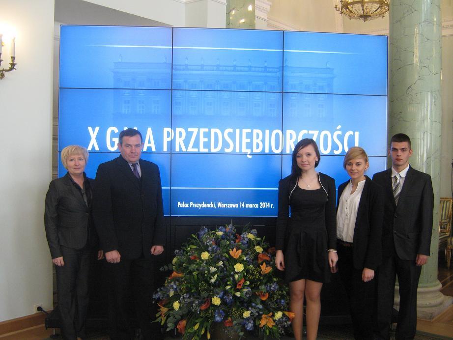 Gala przedsiębiorczości – 2014
