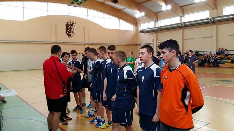 Srebrny medal dla naszych chłopaków w Powiatowej Lidze Piłki Ręcznej