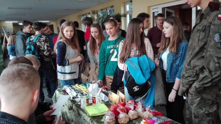 Kuszenie gimnazjalistów … w ZSP Kościelec