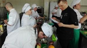 Uczniowie z Kościelca na konkursie gastronomicznym w Gdyni