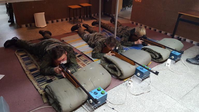 Szkolenie strzeleckie w ZSP Kościelec