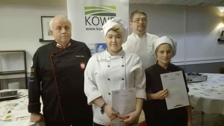 Kulinarny sukces ZSP w Kościelcu