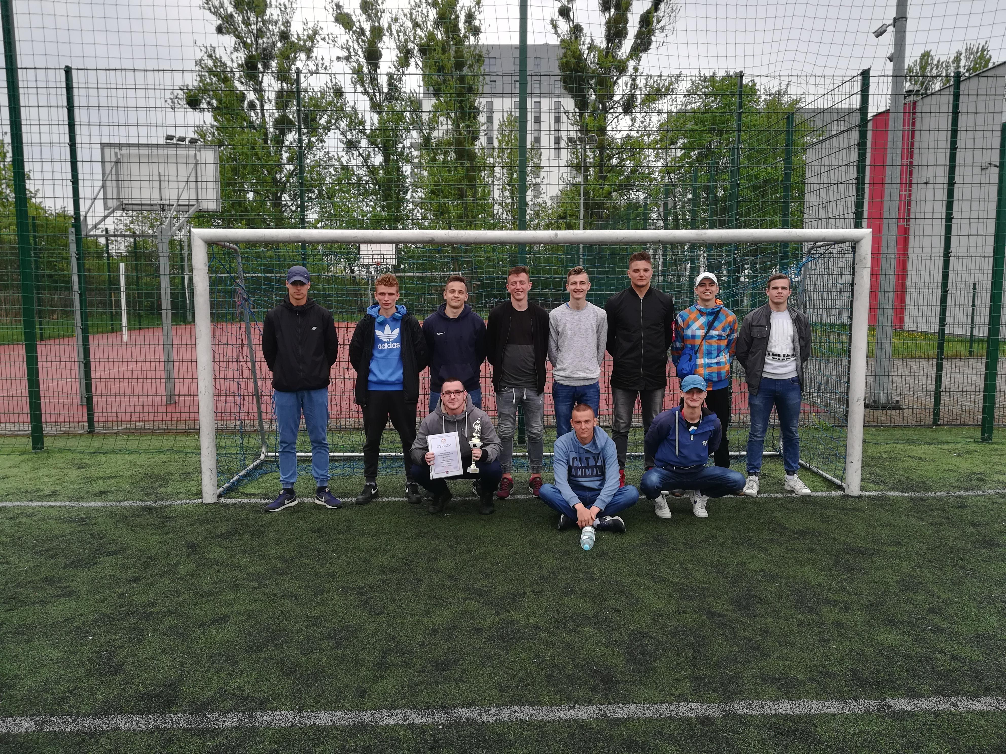 Finał Kujawsko-Pomorskiej Licealiady w Piłce Nożnej