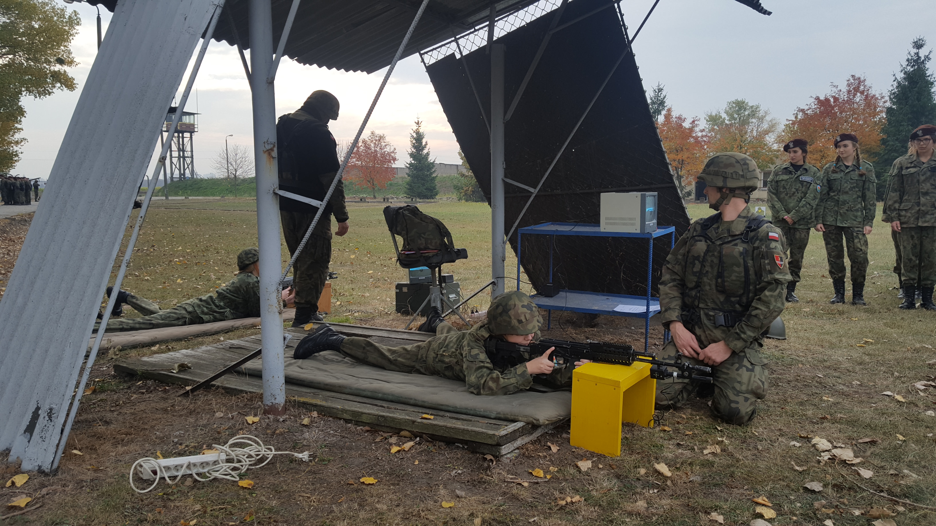 Wojskowy Dzień Szkoleniowy na strzelnicy