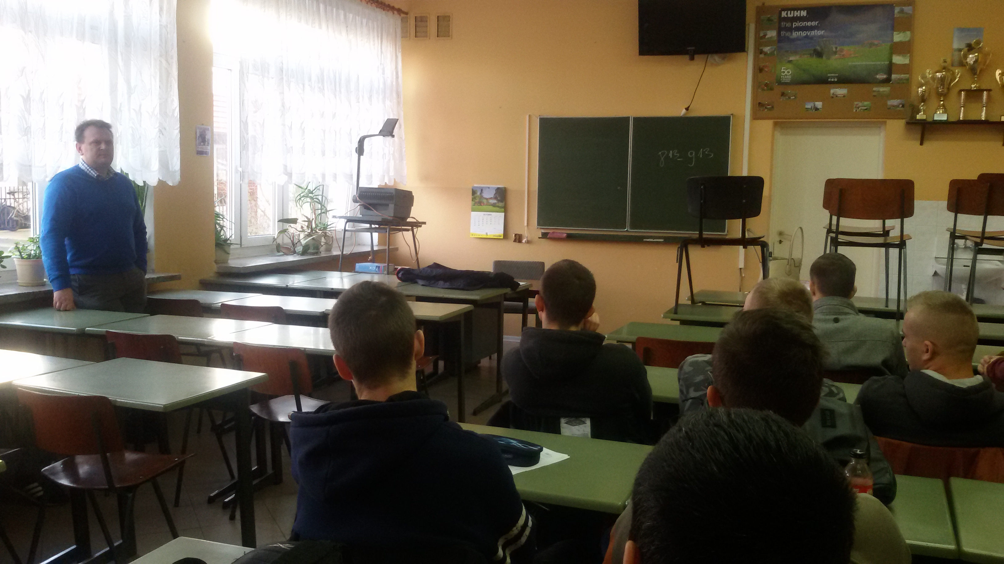 Uczniowie z Kościelca uczą się jak tworzyć grupy producenckie
