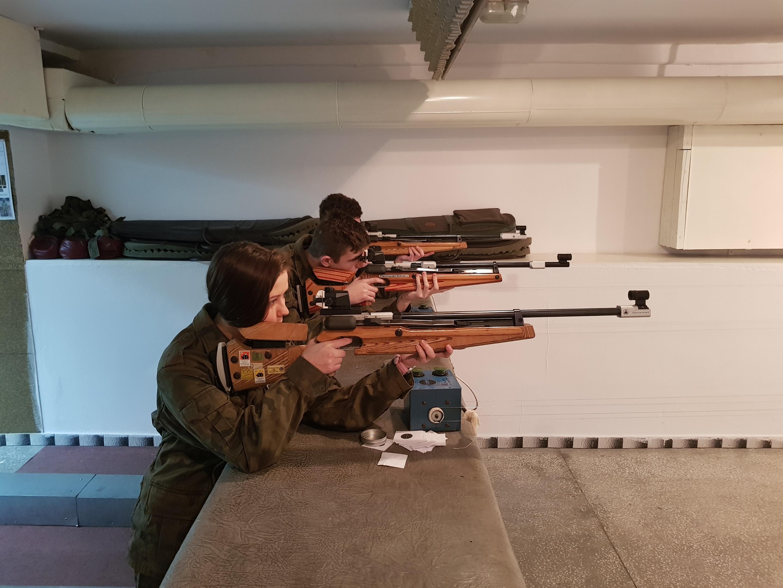 Zajęcia na strzelnicy