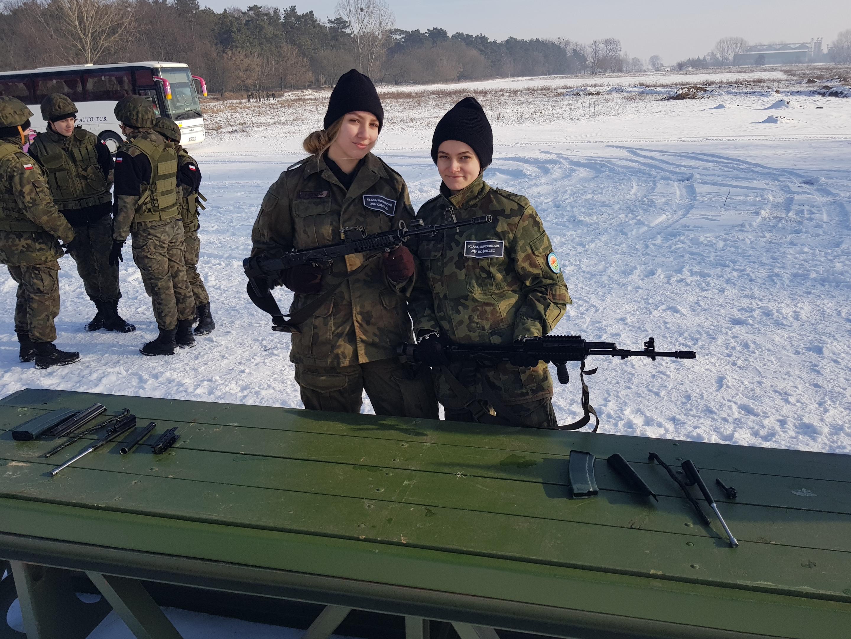 Wojskowy Dzień Szkoleniowy na poligonie