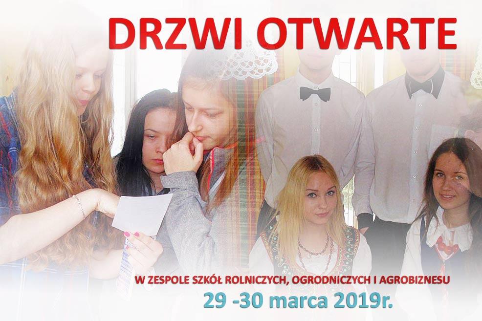 Drzwi otwarte w ZSP Kościelec 29 – 30 marca 2019