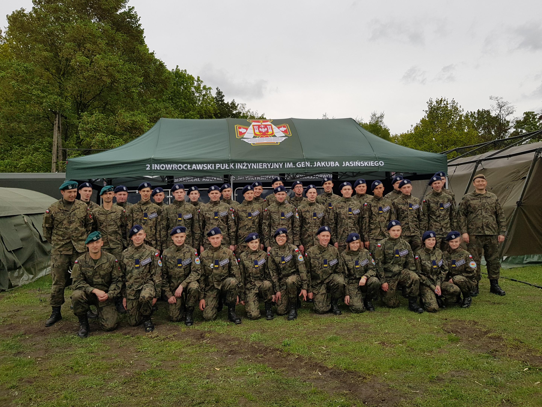 Obóz szkoleniowy realizowany w ramach Edukacji Wojskowej w Ośrodku Szkolenia Poligonowego Łojewo.