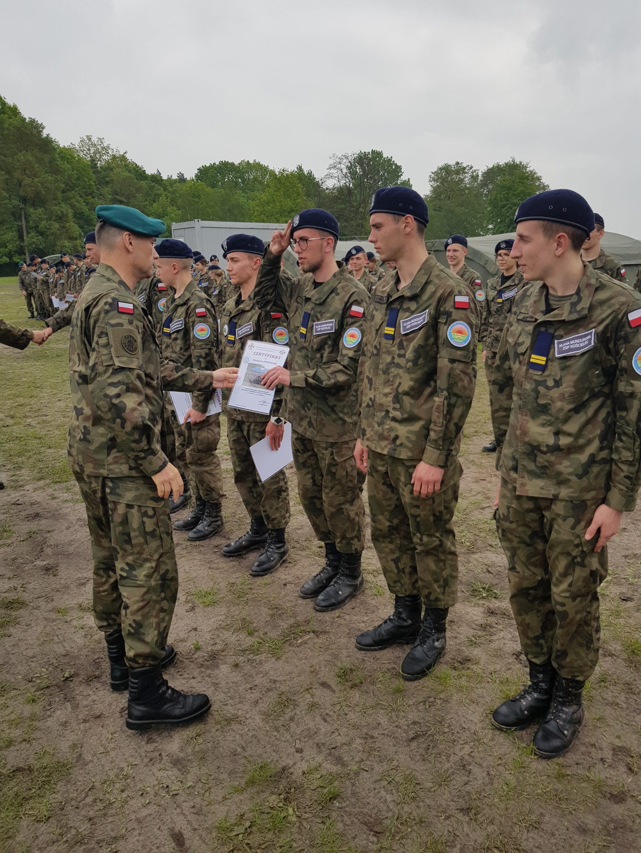 Obóz szkoleniowy kadetów ZSP Kościelec