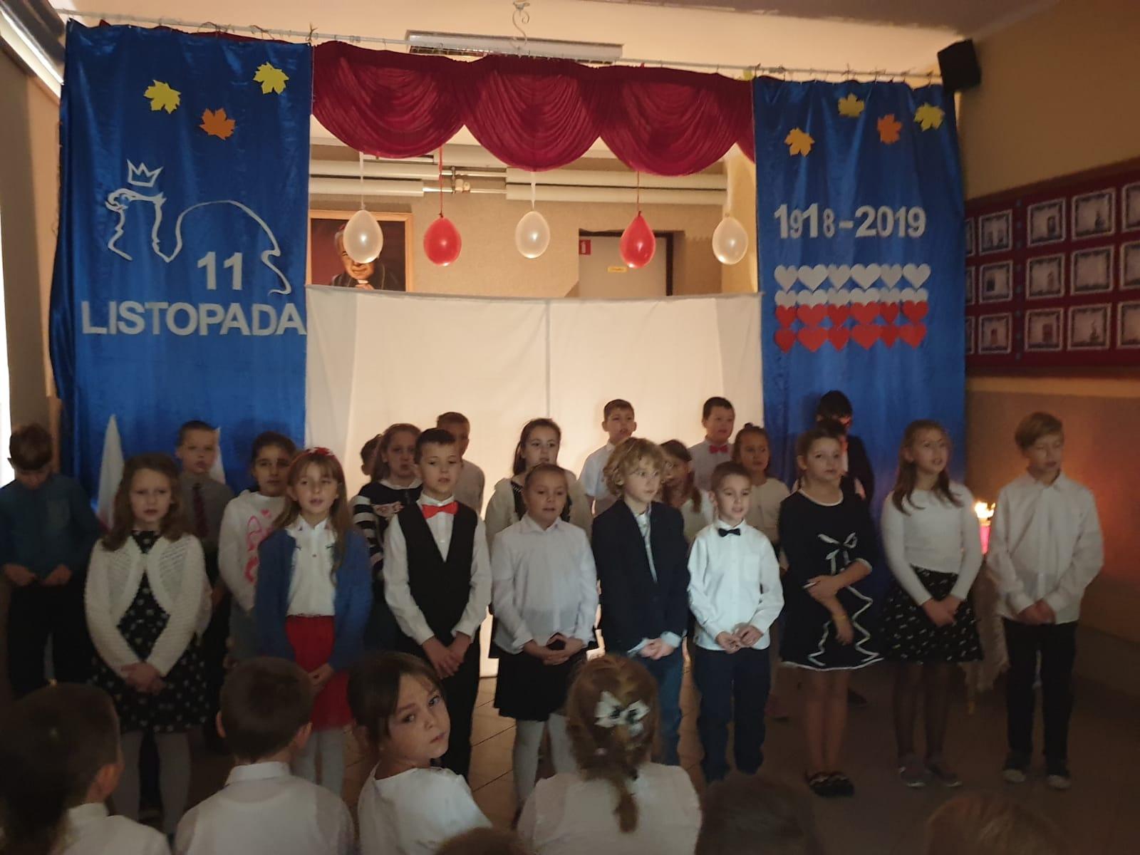 Święto Niepodległości w SP Orłowo