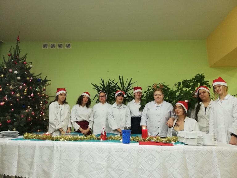 """Świąteczne gotowanie w ramach projektu unijnego """"Twoja Wiedza – Twoja Przyszłość III"""""""