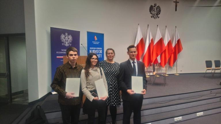 Stypendium Prezesa Rady Ministrów dla uczniów ZS Kościelec