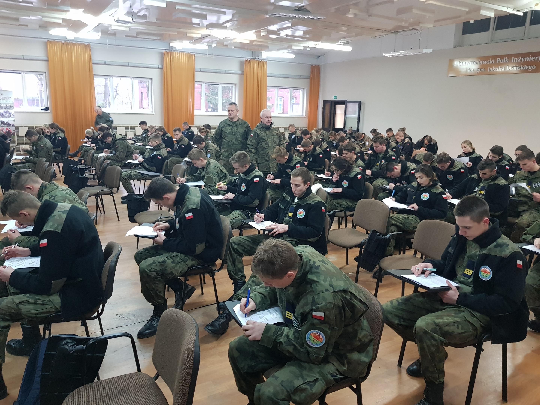 Kadeci z Kościelca na egzaminach