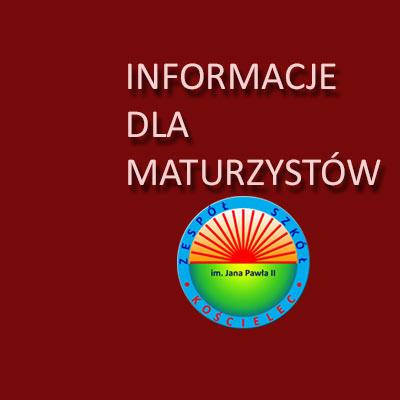 Pakiet dla maturzystów – informator maturalny