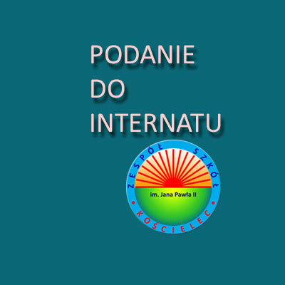 Podanie do internatu