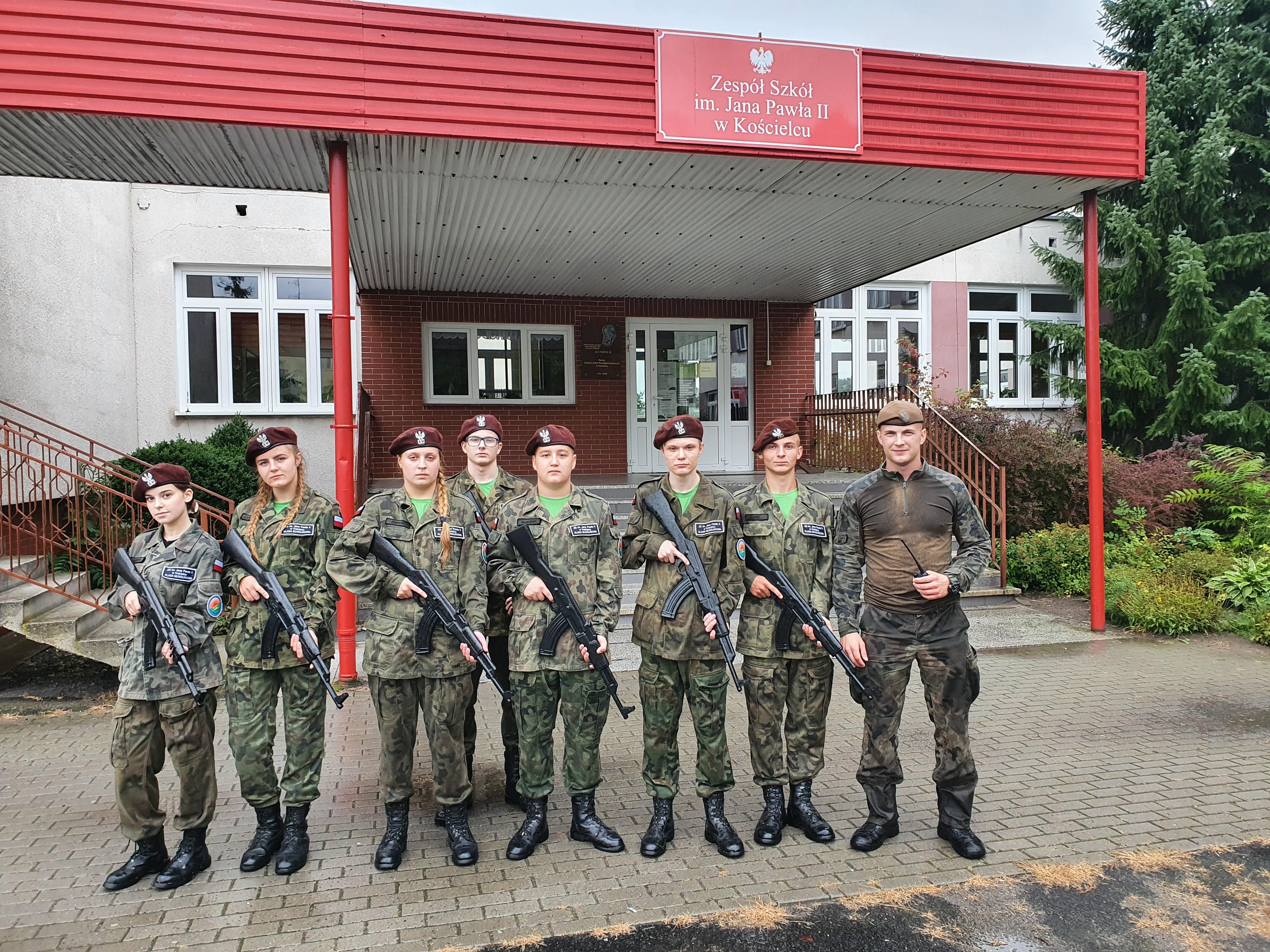 Szkolenie wojskowe w Kościelcu