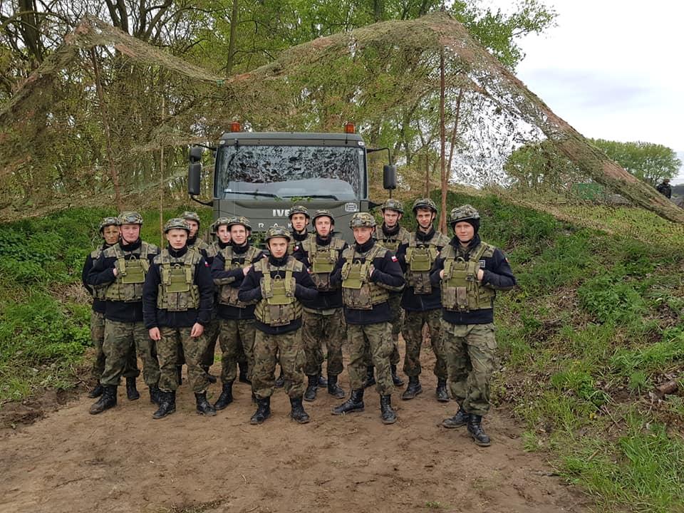 Oddział Przygotowania Wojskowego – jedyny w Powiecie Inowrocławskim – tylko w ZS Kościelec