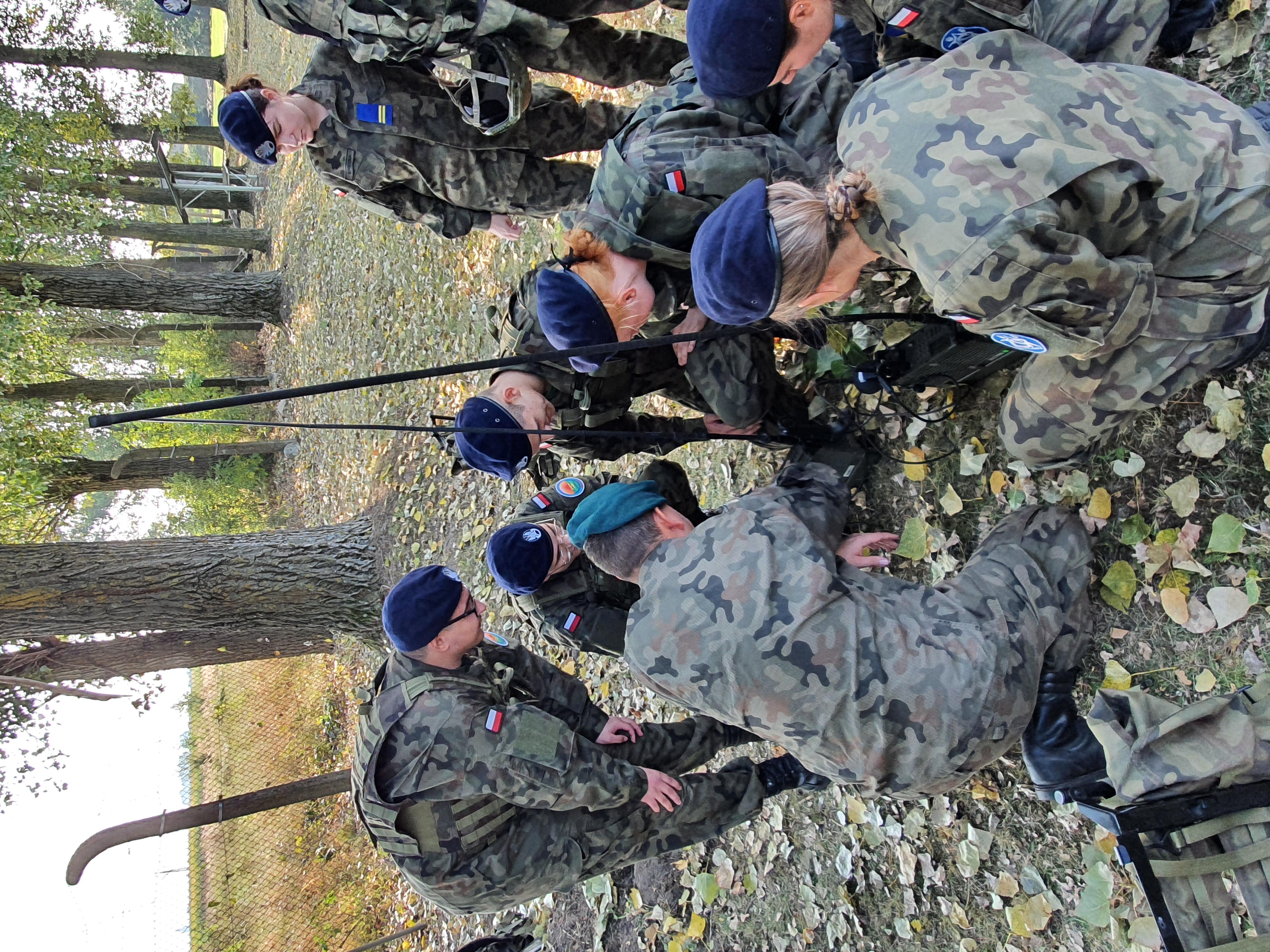 Wojskowy Dzień Szkoleniowy kadetów z Kościelca