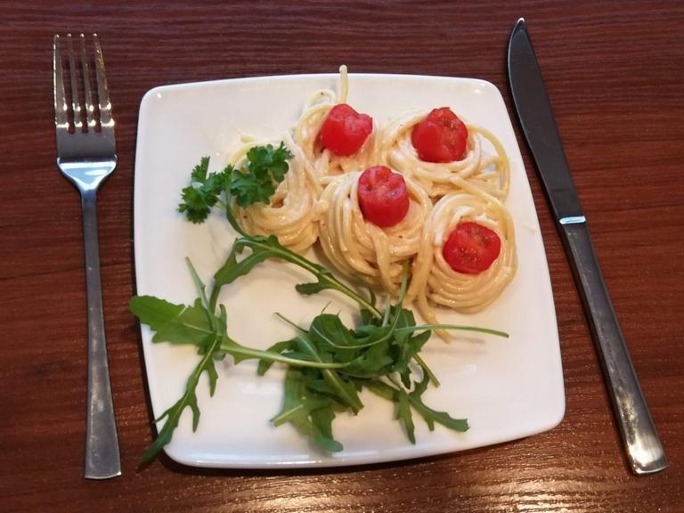 Zajęcia z kuchni włoskiej w ZS Kościelec