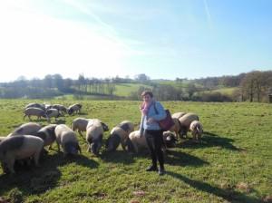 wizyta na farmie w Burdelas